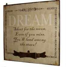 Heaven Sends Dream Shoot for the Moon Plaque - French Chic Bedroom Accessory