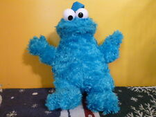 "COOKIE MONSTER Plush Stuffed Animal Back Pack 13"" Sesame Street"