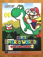 Super Mario World: Super Mario Advance 2 GBA 2002 Print Ad/Poster Official Art