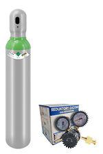 Gas bottle 8l Argon/CO2 Protective welding gas MIG MAG MIX + Regulator