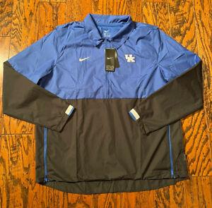 Nike Kentucky Wildcats On-Field Coach Wind Jacket Men's XL CQ5107-480 NWT $80