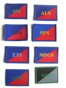AGC SPS APS MPS MPGS GSPS ETS TRF ARM BADGE   UK DZ MTP GURKHA