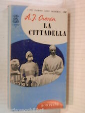 LA CITTADELLA A J Cronin Bompiani I delfini 22 1964 libro romanzo narrativa di