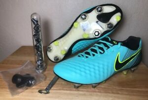 Womens Nike Magista Opus II 2 SG-Pro Soccer Cleats SZ Aqua Black New 844220-401