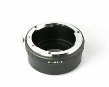 NIKON F Ai Mount Lens to Micro 4/3 M4/3 Adapter Ring, Olympus     - AUSPOST