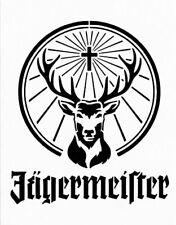 high detail airbrush stencil jagermeifter logo FREE POSTAGE