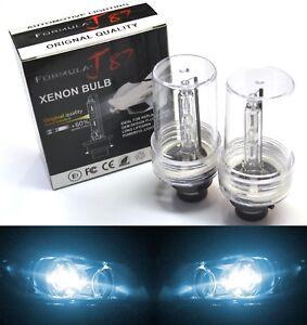 HID Xenon D2S Two Bulbs Head Light 8000K Icy Blue Bi-Xenon High Low Beam Replace