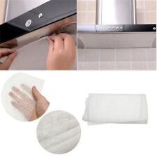 12Pcs Hood Filter Paper Non-Woven Kitchen Smoke Oil Absorbing Sheet Sticker Tool