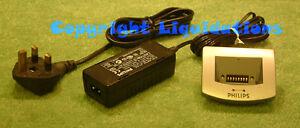 Philips Digital Pocket Memo Docking Station LFH 9110 for LFH 9220 9250 9360 +PSU