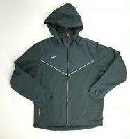 Nike Storm-FIt Water Resistant Wind Rain Jacket Full Zip Men's SZ M Gray 777179