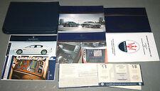 2009 MASERATI Quattroporte, Quattroporte S OWNERS MANUAL - SET (Rare!!!)