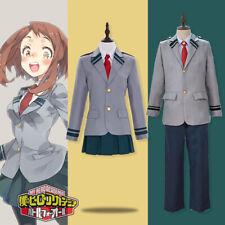 Anime My Hero Academia Character School Uniform Set Cosplay Costume Or Wig NEW