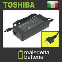 Alimentatore 15V 6A 90W per Toshiba Satellite 200