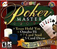 Lot of 15 Poker Master Pc Brand New