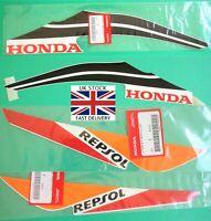 Honda CBR125 2011-2019 GENUINE Repsol Decal Sticker Left Right Rear Fairing