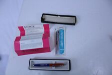 Vintage Advertising Charley Pen Ornacol Blue & Red in a Parker Box w/Instruction