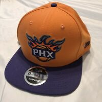 New Era 9FIFTY Phoenix Suns Snapback Hat Cap Orange Purple Bill NEW
