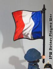BANDERA FRANCESA FRENCH REPUBLIC FLAG PLAYMOBIL SOLDADO NO INCLUIDO