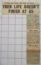 Should Old People Be Put In Homes Or Stay In Their Own Home 1953 News Clipping