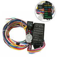 12-way Marine Boat Electric Wiring Kit Wire Harness Fuse Holder for Light Gauge