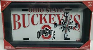 Ohio State Buckeyes Clock