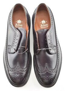 NEW W BOX | ALDEN 9D #8 SHELL CORDOVAN LONGWING DRESS SHOES 975