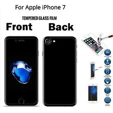 Premium Front And Back Tempered Glass Screen Protector Film for iPhone 7 4.7""