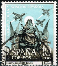 Spain Aviation Aircrafts Airforce stamp 1960