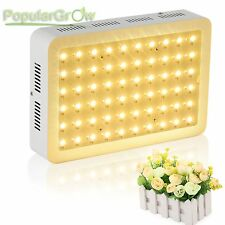 PopularGrow Full Spectrum 300W LED Grow Light 60*5W Hydroponics plant veg growth