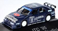 ALFA ROMEO 155 V6 TI ITC DTM 1995 ALFA CORSE 2 Antera #13 Giudici 1:87 HERPA