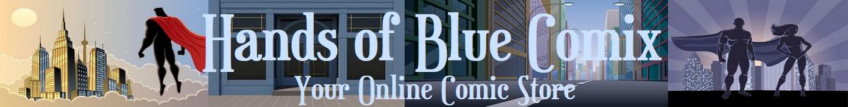 Hands of Blue Comix