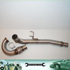 76mm Acciaio Inox Downpipe Tubo a Y 2.0 TFSI Seat Leon Cupra Pezzi + VW Golf 7