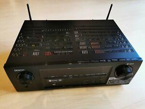 Denon AVR-X1400H, 7.2 Receiver 4K Dolby Atmos WLAN AV-Receiver - Schwarz