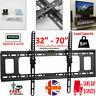 HQ TILT TV Wall Bracket Mount For 32 40 42 50 55 60 65 70 Inch Plasma LED LCD