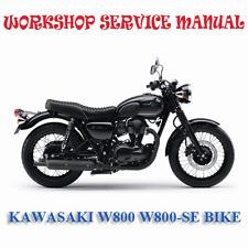 KAWASAKI W800 W800-SE BIKE WORKSHOP SERVICE REPAIR MANUAL (DIGITAL e-COPY)