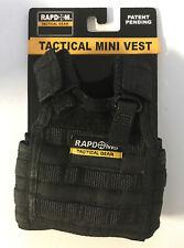 2020 Shot Show Rapdom Tactical Gear Beer Koozie Mini Vest T99 Black New