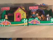 2004 NEW Fisher Price Sweet Streets ( Lot Of 2 ) **Sealed**