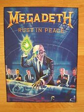 MEGADETH Rust In Peace BACK PATCH printed NEW thrash metal