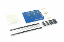 4x4x4 LED Cube Arduino UNO Shield DIY Kit 64 74HC595 Unsoldered Flux Workshop