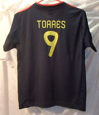 Fernando Torres Spain Soccer Jersey Youth Size Large