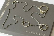 """Silpada Sterling Silver 2009 Leadership Conference """"Hero Lives In You"""" Necklace"""