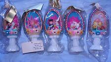 Set Of 5 Vintage Diorama Eggs Wedding Graduation Easter Bunny Flower Bride Bugs
