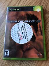 Dead or Alive 3 (Microsoft Xbox, 2001) Cib Game -H3