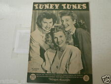 1950-74 TUNEY TUNES MUSIC THE ANDREW SISTERS,SINATRA,CATHY CROSBY,B HUTTON,GERAL