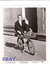 Fernando Lamas rides bike VINTAGE Photo