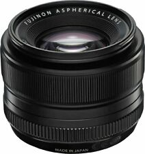 Fuji 35mm f1.4 R Fujinon Black Lens