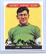 JIM THORPE (FOOTBALL) 1933 GOUDEY SPORTS KINGS #6! GREATEST ATHLETE EVER!!