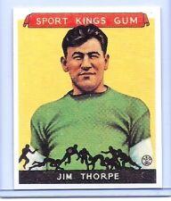JIM THORPE (FOOTBALL) 1933 GOUDEY SPORTS KINGS #6! GREATEST ATHLETE EVER!!