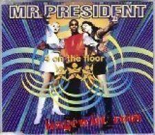 Mr. President 4 on the floor (1995) [Maxi-CD]