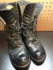 Double H Brand Jump Boots Size 8.5 D Distressed Combat Vintage Grunge 1970s 975